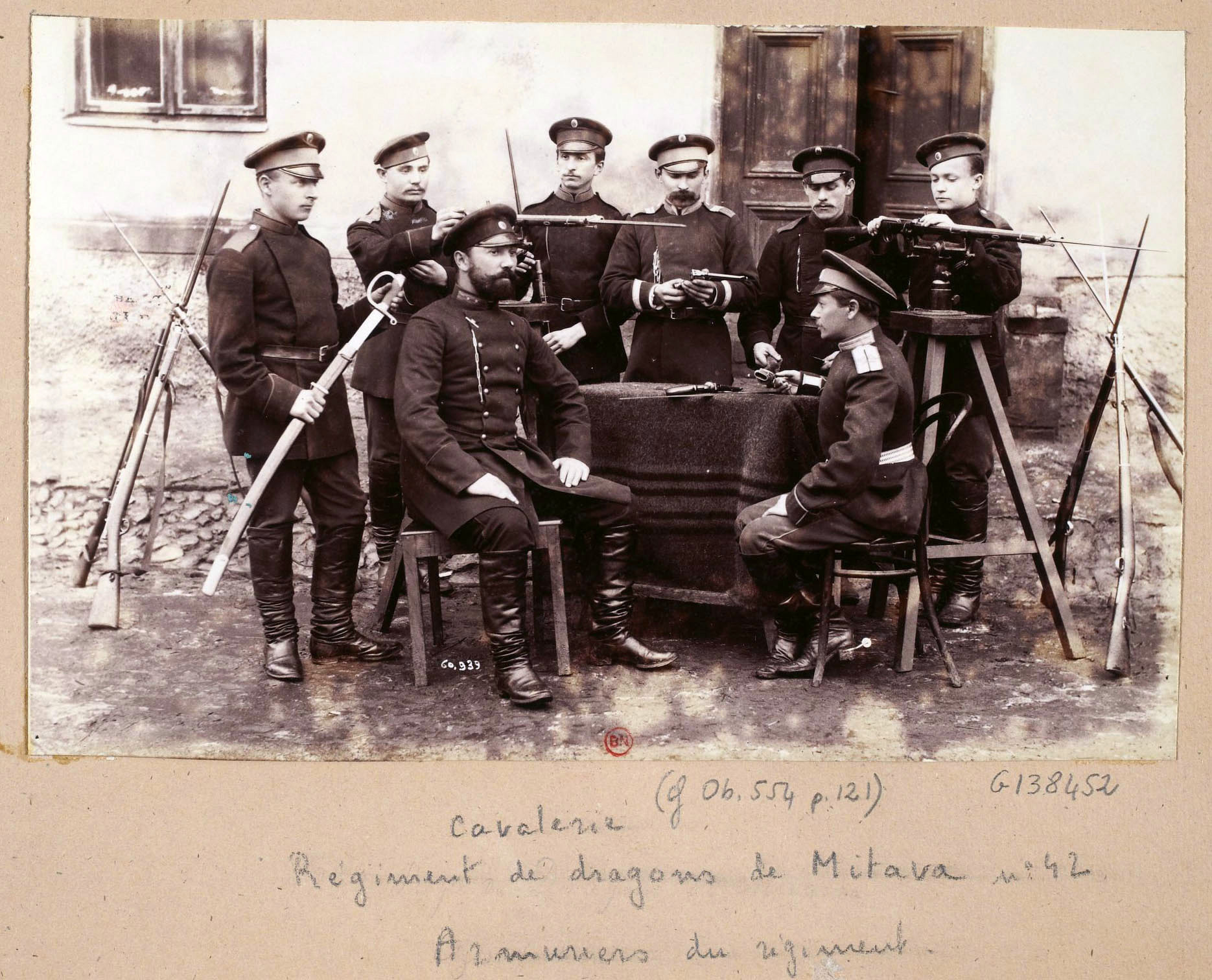 The first part of the russian imperial army photos