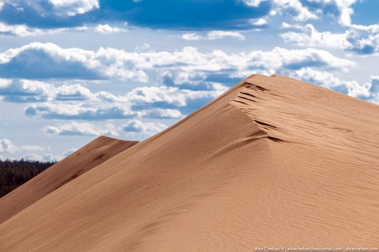 Sand Dunes in Siberia, Russia, photo 11