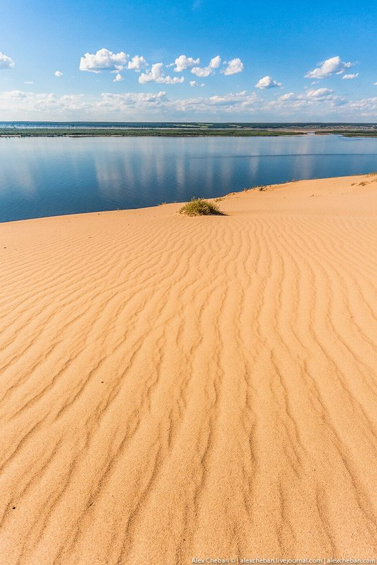 Sand Dunes in Siberia, Russia, photo 14