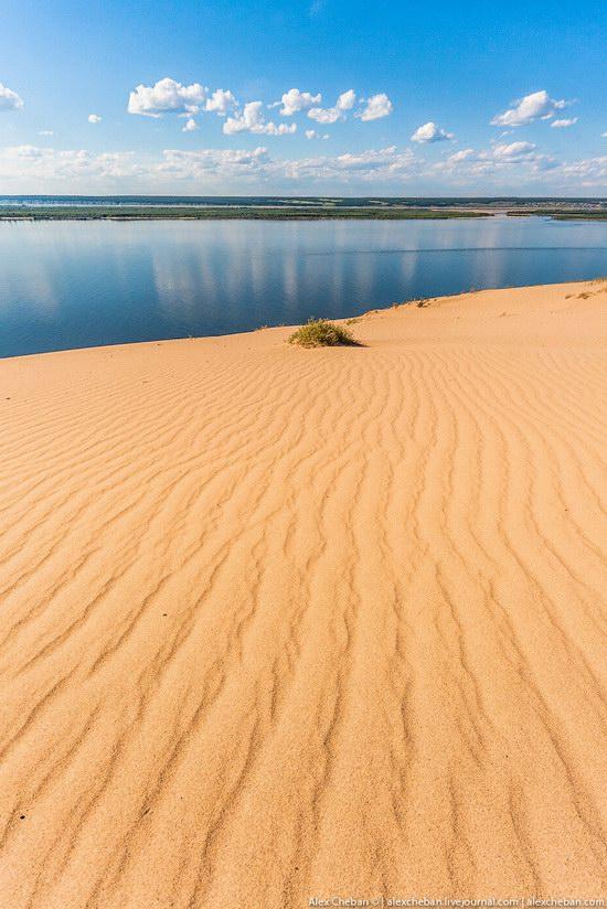 Sand Dunes in Siberia, Russia, photo 14