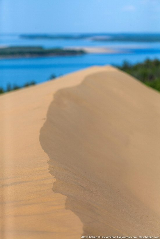 Sand Dunes in Siberia, Russia, photo 15