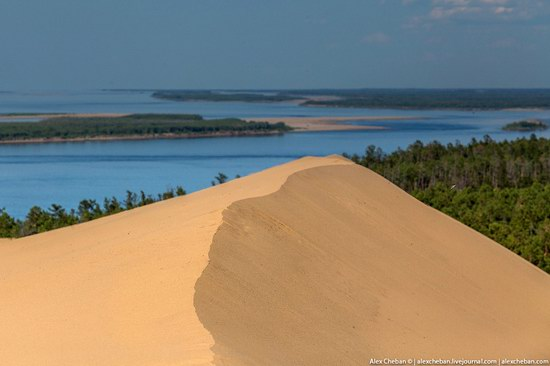Sand Dunes in Siberia, Russia, photo 16