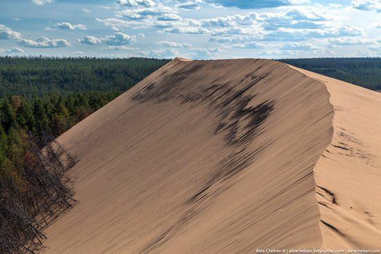 Sand Dunes in Siberia, Russia, photo 17