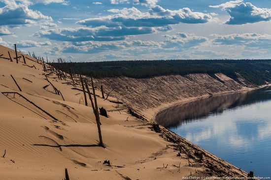 Sand Dunes in Siberia, Russia, photo 7