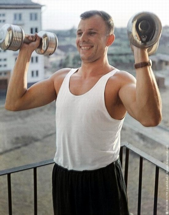 Yuri Gagarin, photo 1