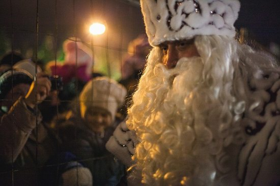 Chief Russian Father Frost in Samara, photo 4