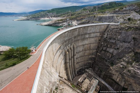 Chirkeisk Hydro Power Plant, Dagestan, Russia, photo 1