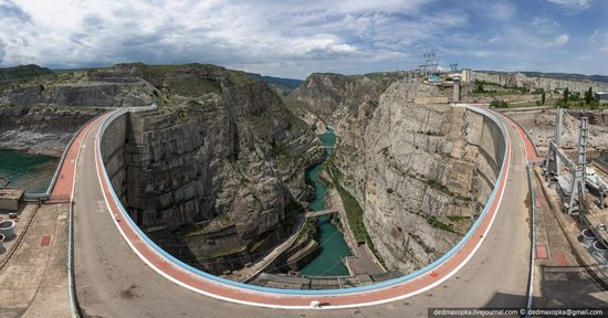 Chirkeisk Hydro Power Plant, Dagestan, Russia, photo 10