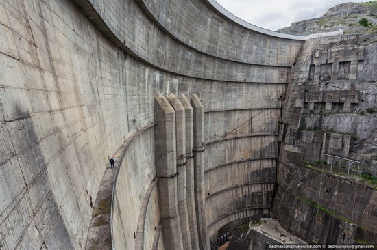 Chirkeisk Hydro Power Plant, Dagestan, Russia, photo 2
