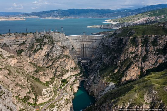 Chirkeisk Hydro Power Plant, Dagestan, Russia, photo 21