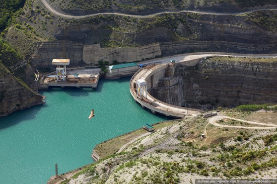Chirkeisk Hydro Power Plant, Dagestan, Russia, photo 22