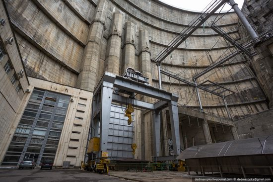 Chirkeisk Hydro Power Plant, Dagestan, Russia, photo 3