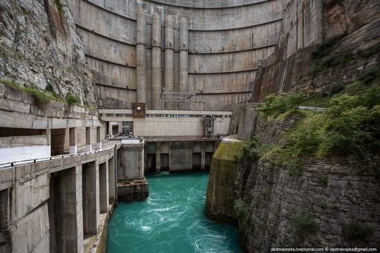 Chirkeisk Hydro Power Plant, Dagestan, Russia, photo 4