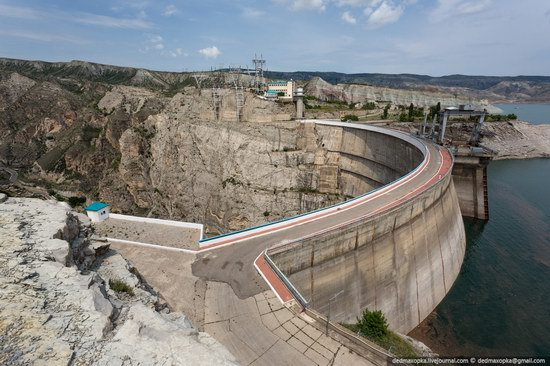 Chirkeisk Hydro Power Plant, Dagestan, Russia, photo 8