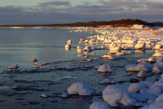 Cold Coast of the White Sea, Solovki, Russia, photo 3