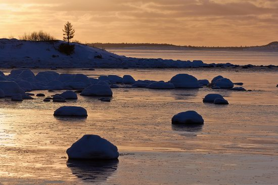Cold Coast of the White Sea, Solovki, Russia, photo 9