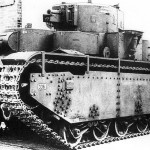 The world's only five-turret Soviet tank T-35A