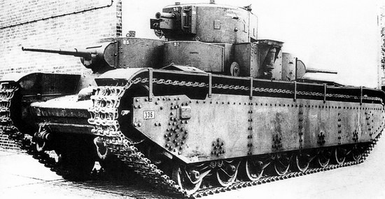 Five-turret Soviet tank, photo 1
