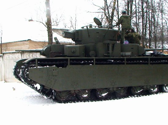 Five-turret Soviet tank, photo 4