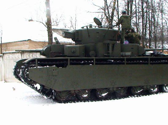 Five-turret Soviet tank, photo 4