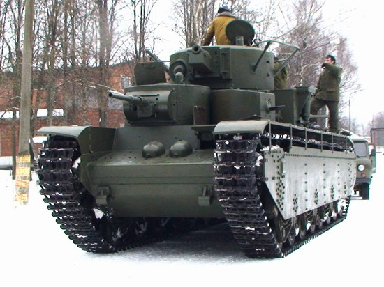 Five-turret Soviet tank, photo 5