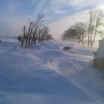 Snow apocalypse in Rostov region