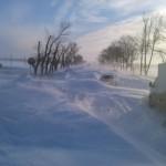 Snow apocalypse in Rostov region