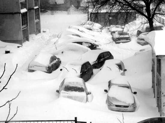 Snow apocalypse in Rostov region, Russia, photo 13