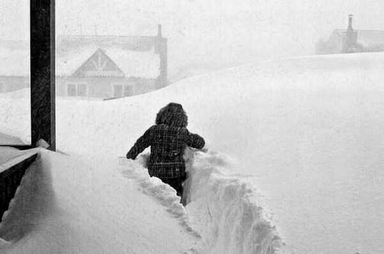 Snow apocalypse in Rostov region, Russia, photo 14