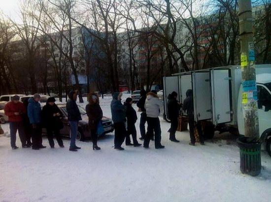 Snow apocalypse in Rostov region, Russia, photo 9