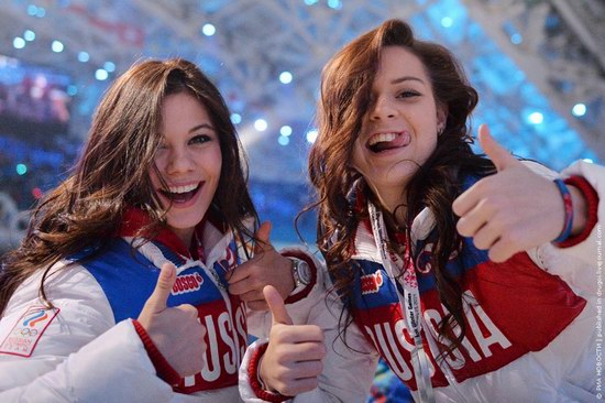 The closing ceremony of the Winter Olympics 2014 in Sochi, Russia, photo 1