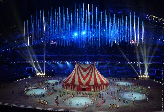 The closing ceremony of the Winter Olympics 2014 in Sochi, Russia, photo 14