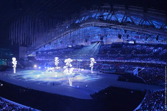 The closing ceremony of the Winter Olympics 2014 in Sochi, Russia, photo 17