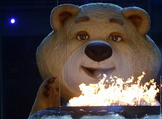 The closing ceremony of the Winter Olympics 2014 in Sochi, Russia, photo 21