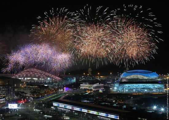 The closing ceremony of the Winter Olympics 2014 in Sochi, Russia, photo 23