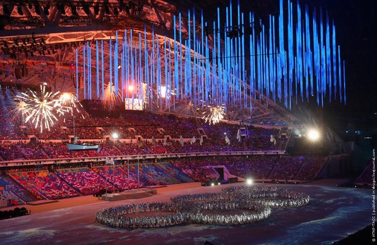 The closing ceremony of the Winter Olympics 2014 in Sochi, Russia, photo 3
