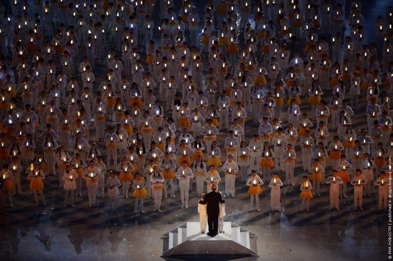 The closing ceremony of the Winter Olympics 2014 in Sochi, Russia, photo 7