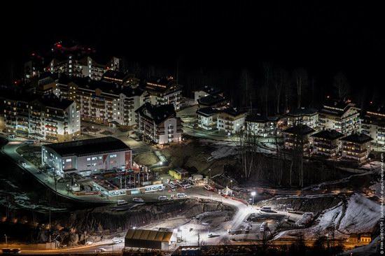 Sochi 2014 Mountain Cluster at night, photo 4
