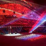 Photo report from the opening ceremony of the Olympics