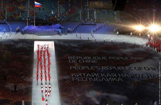 Sochi 2014 Opening Ceremony