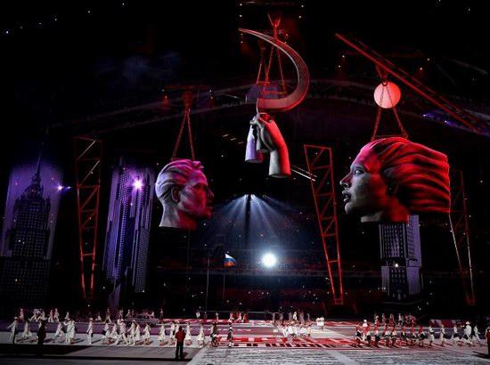 Sochi 2014 Winter Olympics opening ceremony, photo 7