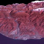 Sochi Olympic Park and surroundings from space