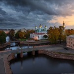 St. Nicholas Naval Cathedral in autumn