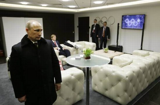 What happens when Putin is not watching the Games, photo 2
