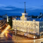 Architecture of Barnaul city