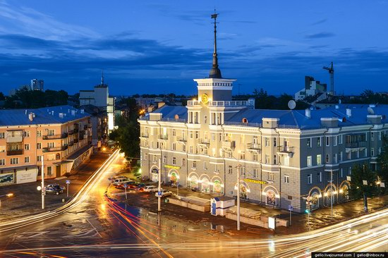 Architecture of Barnaul city, Russia, photo 1