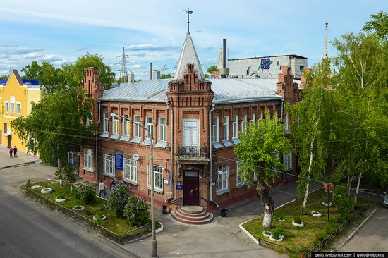 Architecture of Barnaul city, Russia, photo 11