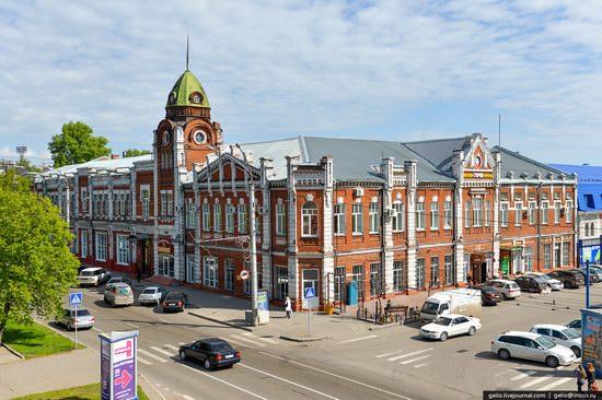 Architecture of Barnaul city, Russia, photo 12