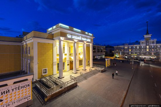 Architecture of Barnaul city, Russia, photo 14