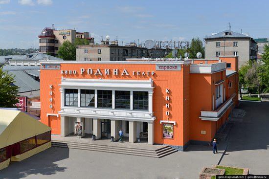 Architecture of Barnaul city, Russia, photo 15